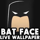 BAT Face Live Wallpaper HD