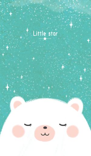 little star 카카오톡 테마