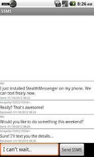 Stealth Messenger- screenshot thumbnail