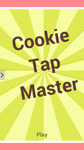 Cookie Tap Master