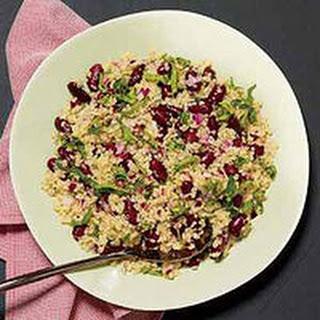 Quinoa-and-Bean Salad.