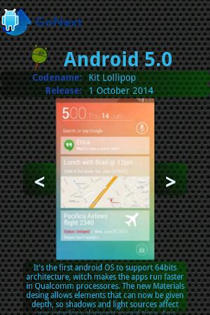 Android Upgrade Go Next! app screenshot