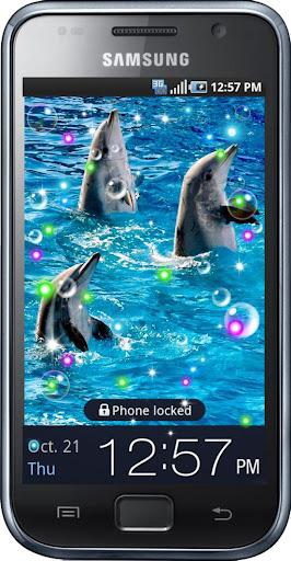 Dolphins Dances live wallpaper