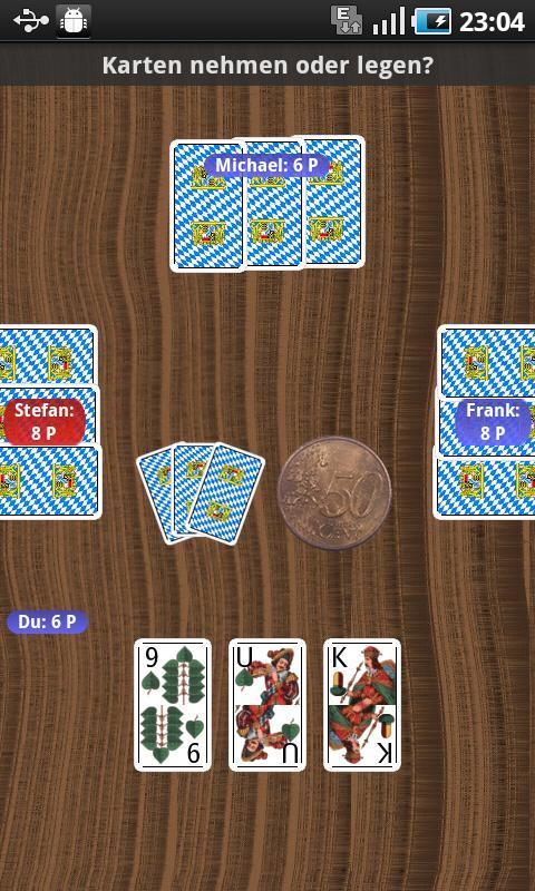 Mucken Kartenspiel