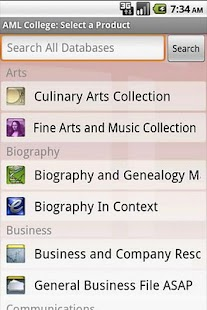 AccessMyLibrary CollegeEdition - screenshot thumbnail