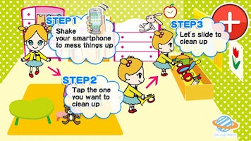 Screenshot of Kids Edu:Let's clean up! 3+