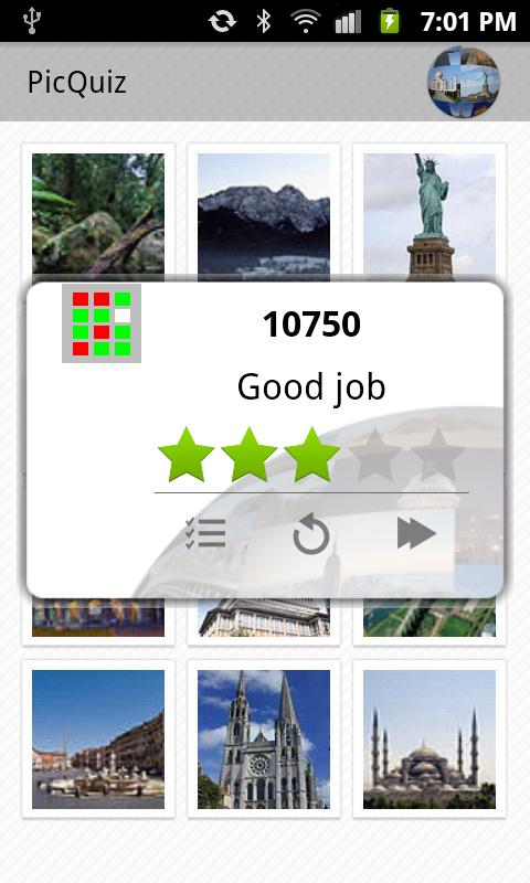 PicQuiz World Curiosity - screenshot