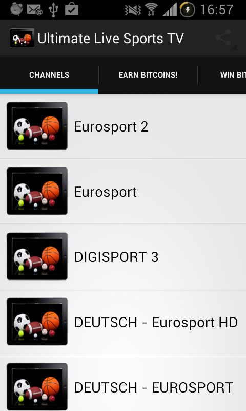 Live Sports - screenshot
