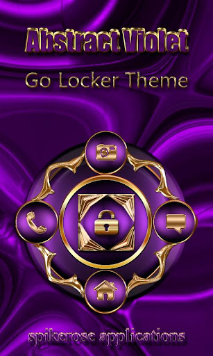 Abstract Violet Go Locker