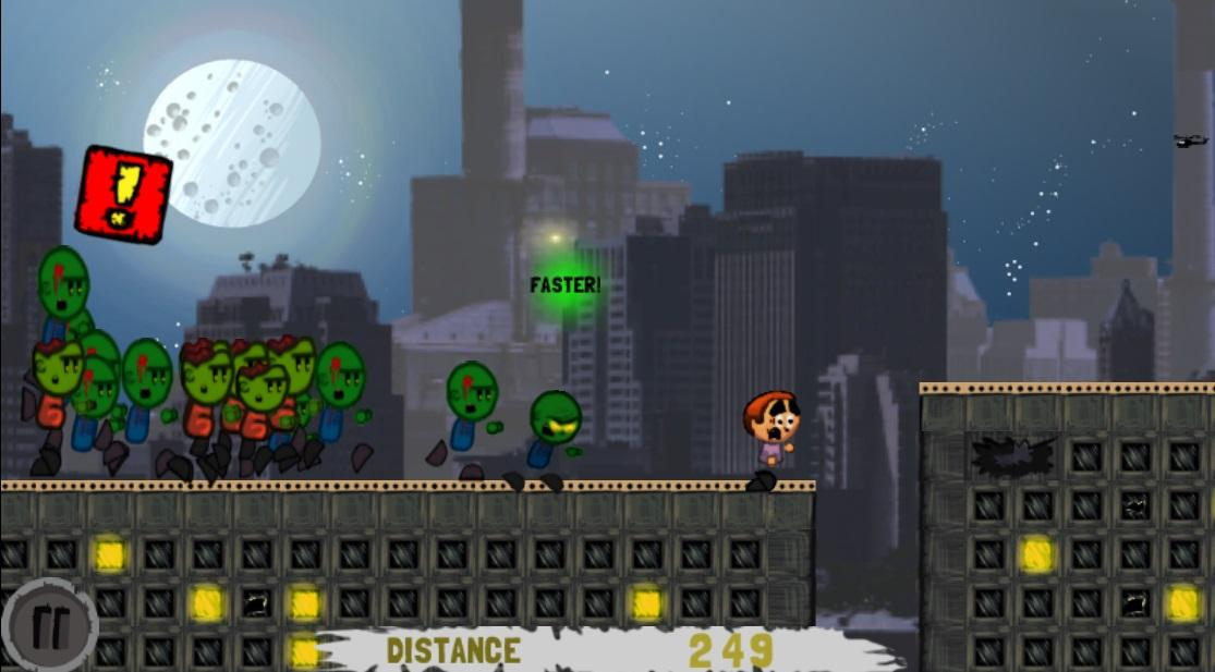 Yikes! Zombies! Run! - screenshot