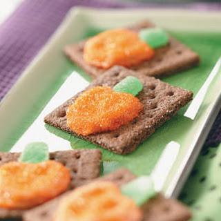 Pretzel Pumpkin Grahams