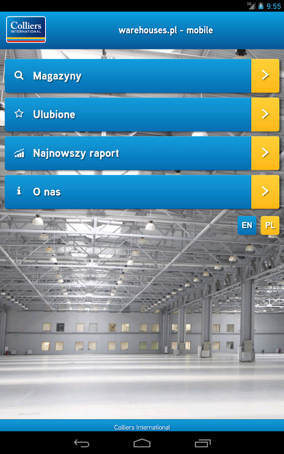 Warehouses.pl Mobile Colliers - Android Apps on Google Play