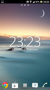 Digital Clock Widget Xperia - screenshot thumbnail