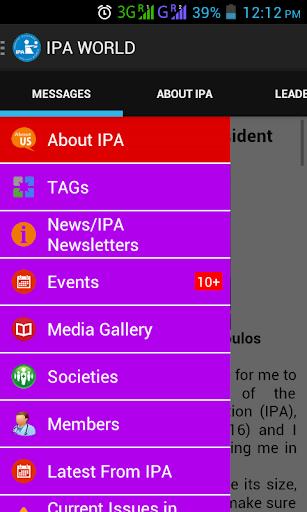 IPA IPA-WORLD IPA-WORLD.ORG