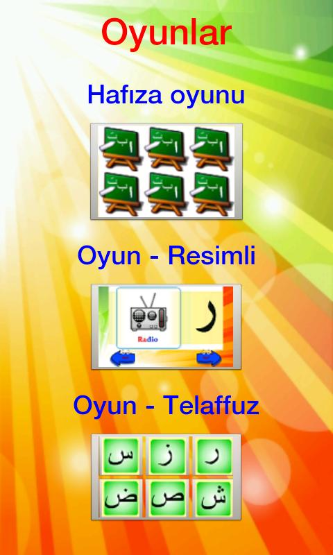 Elif Ba Oyun -Türkçe-- screenshot
