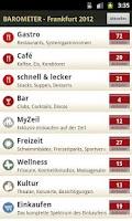 Screenshot of BAROMETER Frankfurt 2012