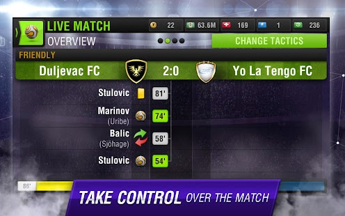 Top Eleven Be a Soccer Manager - screenshot thumbnail