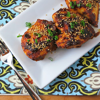 Oven-Baked Sriracha Chicken