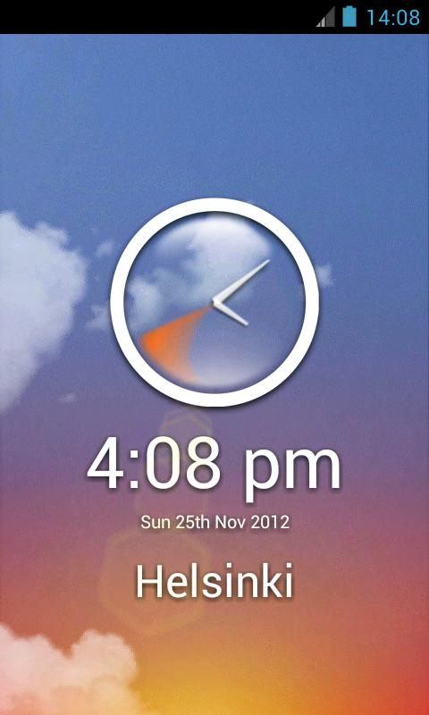 Talking Time Keeper- screenshot