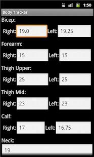 Body Fat Calculator - screenshot thumbnail
