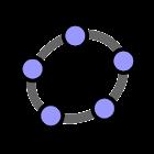 GeoGebra Math Apps icon
