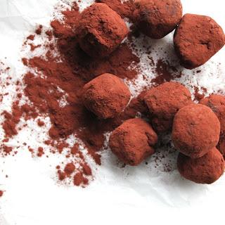 Chocolate Date Truffles.