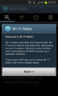 Wi-Fi Matic - Auto WiFi On Off- screenshot thumbnail