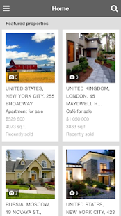 PG Real Estate mobile- screenshot thumbnail
