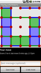 Dots & Boxes Phone-to-Phone- screenshot thumbnail