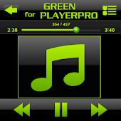 SKIN FOR PLAYERPRO GLASS GREEN