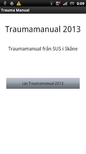 Trauma manual