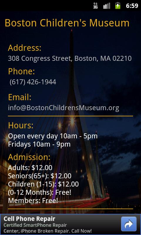 Museums In Boston- screenshot
