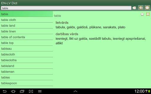 【免費書籍App】English Latvian dictionary-APP點子