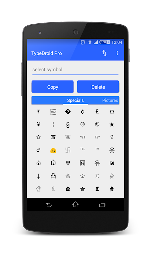 TypeDroid Pro with Keyboard