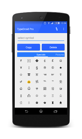 android TypeDroid Pro with Keyboard Screenshot 12