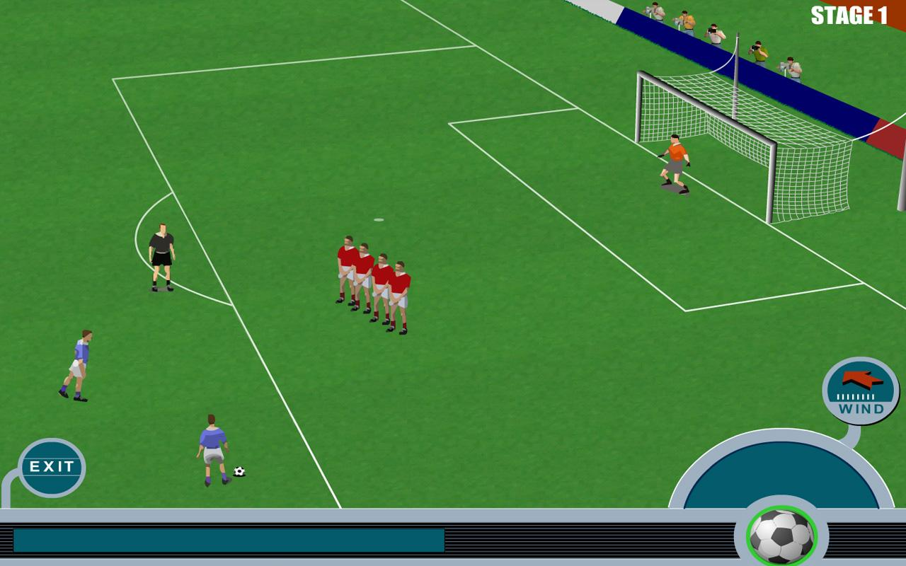 Jeux de Foot - screenshot
