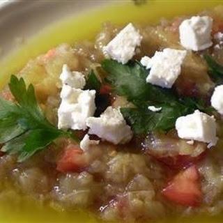 Melitzanosalata Agioritiki (Athenian Eggplant Salad)
