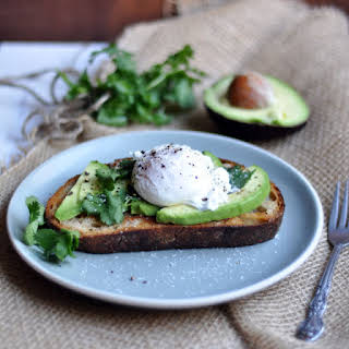 Avocado Toast with Poached Egg.