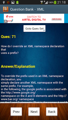 【免費教育App】XML Interview Questions-APP點子