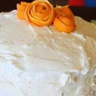 Fresh Orange and Vanilla Cake.