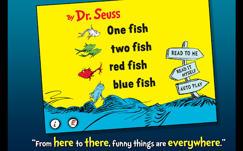 One Fish Two Fish - Dr. Seuss - screenshot thumbnail
