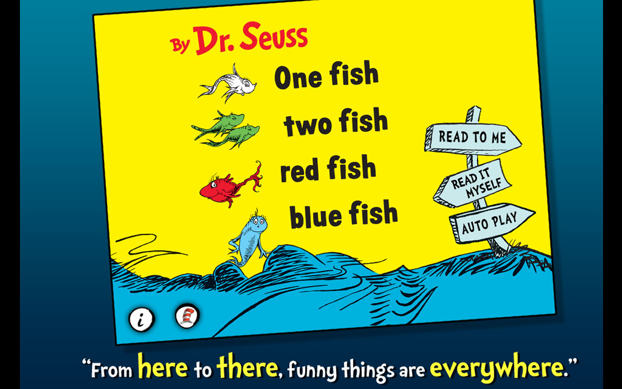 One Fish Two Fish - Dr. Seuss- screenshot
