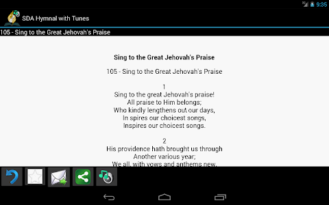 SDA Hymnal with Tunes v1.25