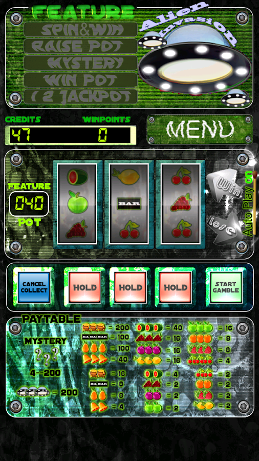 Alien Attack Slot Machine - Play Online Video Slots for Free