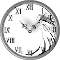 Waxing Crescent Clock icon