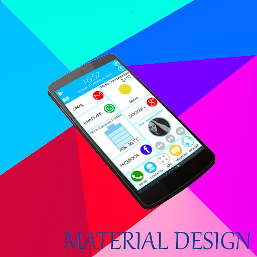 Zooper L Material Design