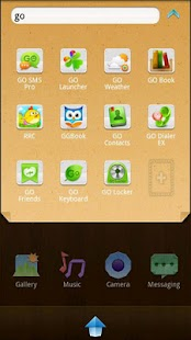 Paper Go Launcher EX Theme - screenshot thumbnail