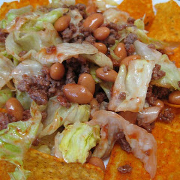 Shockingly Simple Black Bean Taco Salad