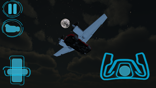 Flying Car 3D: Night Mountain