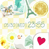 Cute wallpaper★Lemon de Paris